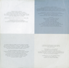 LP inner sleeve back, DE