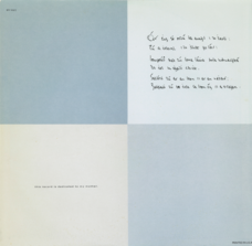 LP inner sleeve front, US